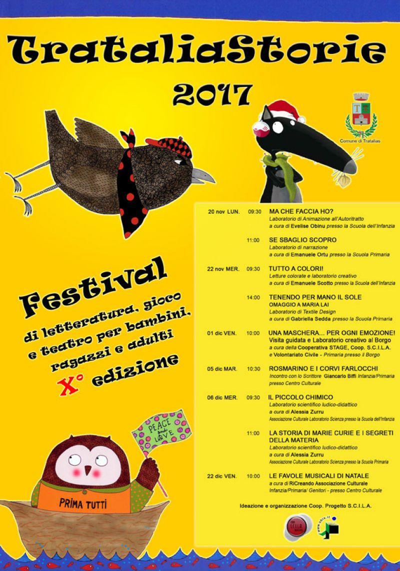 Trataliastorie Festival Di Letteratura Gioco E Teatro Per Bambini